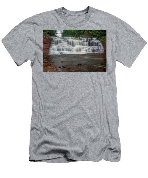 Agate Falls Men's T-Shirt (Athletic Fit)