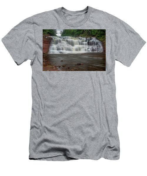 Agate Falls Men's T-Shirt (Athletic Fit)