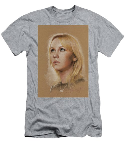 Men's T-Shirt (Athletic Fit) featuring the photograph Agnetha by Jaroslaw Blaminsky
