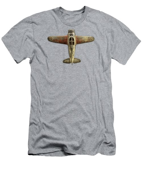 Airplane Scrapper Men's T-Shirt (Slim Fit) by YoPedro