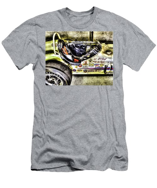 Aj Foyt 1961 Cockpit Men's T-Shirt (Athletic Fit)
