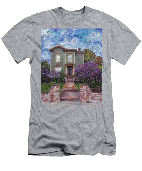 Alameda 1888 - Italianate Men's T-Shirt (Slim Fit) by Linda Weinstock