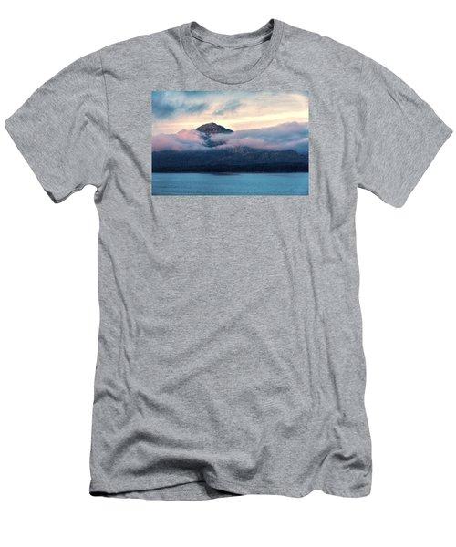 Men's T-Shirt (Slim Fit) featuring the photograph Alaska Dawn 2 by Lewis Mann
