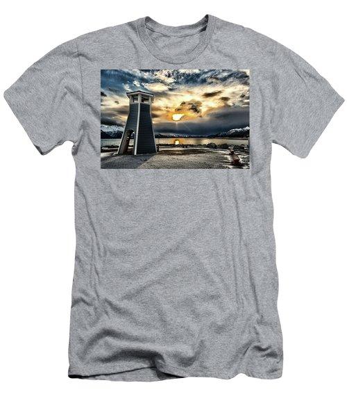 Alaska Starts Here Seward Alaska Men's T-Shirt (Athletic Fit)