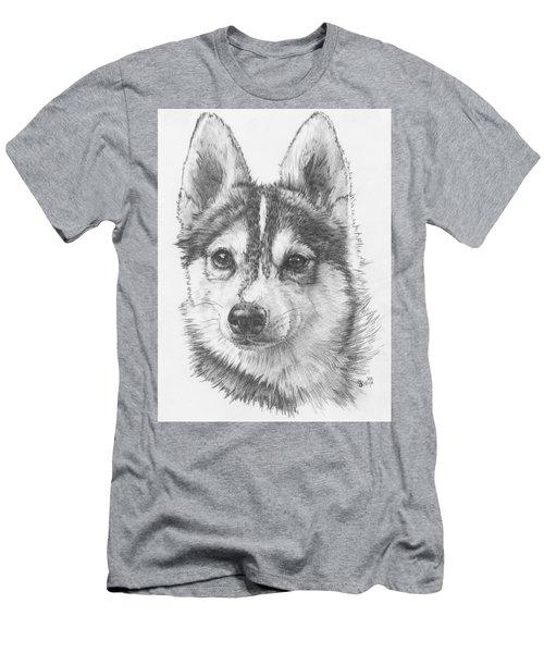 Alaskan Klee Kai Men's T-Shirt (Athletic Fit)