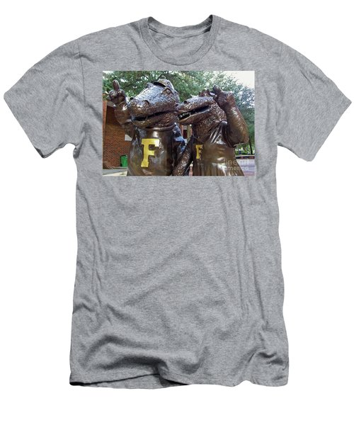Albert And Alberta Men's T-Shirt (Slim Fit) by D Hackett