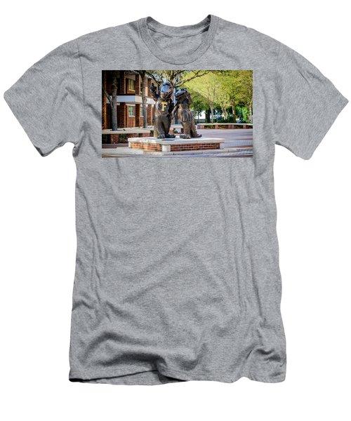 Albert And Alberta Gator Men's T-Shirt (Athletic Fit)