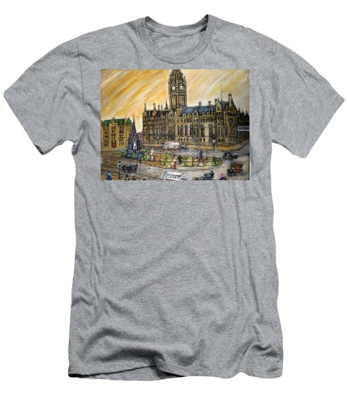 Albert Square Manchester 1900 Men's T-Shirt (Athletic Fit)