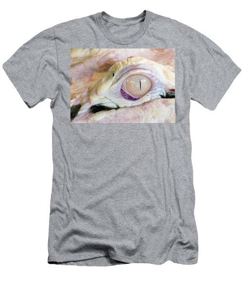 Albino Alligator Men's T-Shirt (Slim Fit) by Lamarre Labadie