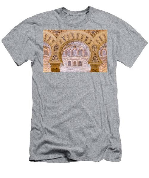 Alcazar Of Seville - Unique Architecture Men's T-Shirt (Athletic Fit)