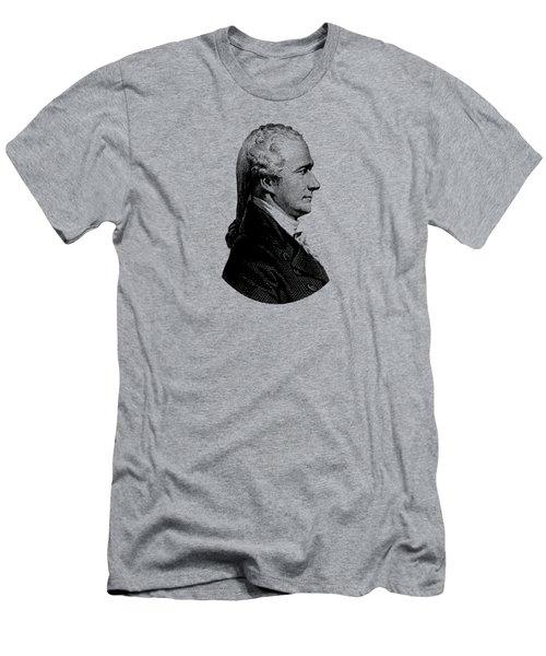 Alexander Hamilton Graphic Portrait  Men's T-Shirt (Athletic Fit)