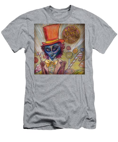 Alien Wonka And The Chocolate Factory Men's T-Shirt (Athletic Fit)