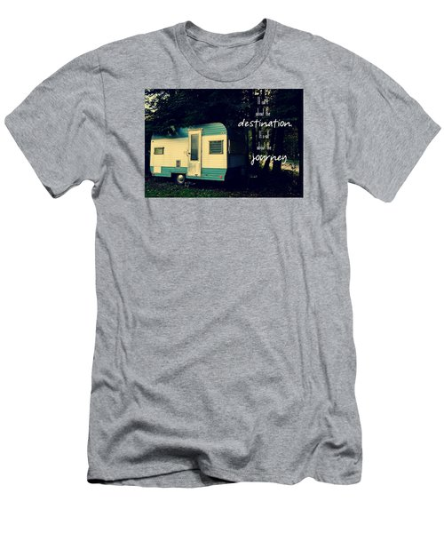 Men's T-Shirt (Slim Fit) featuring the photograph All About The Journey by Robin Dickinson