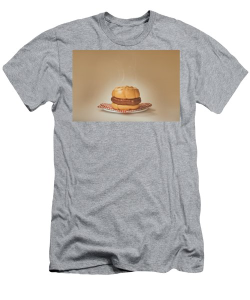 All-american Burger Men's T-Shirt (Athletic Fit)