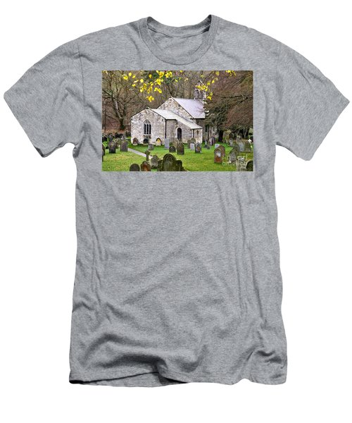 All Saints Church Hawnby Yorkshire Uk Men's T-Shirt (Athletic Fit)