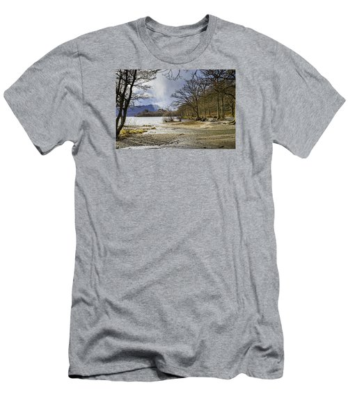 Men's T-Shirt (Slim Fit) featuring the photograph All Seasons At Loch Lomond by Jeremy Lavender Photography