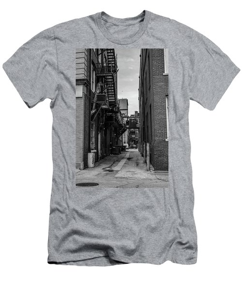 Men's T-Shirt (Athletic Fit) featuring the photograph Alleyway II by Break The Silhouette