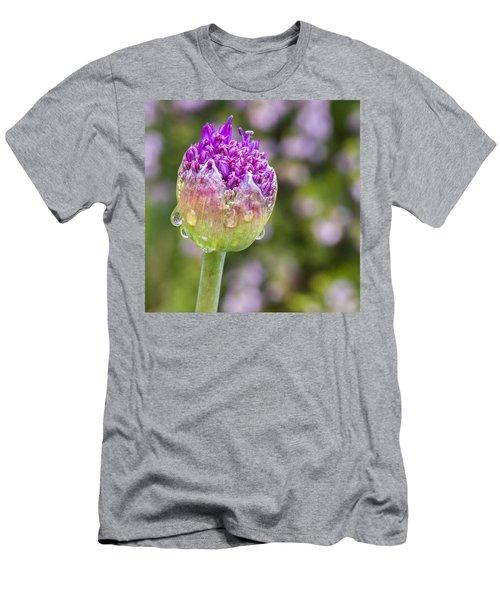 Allium Bud  Men's T-Shirt (Athletic Fit)
