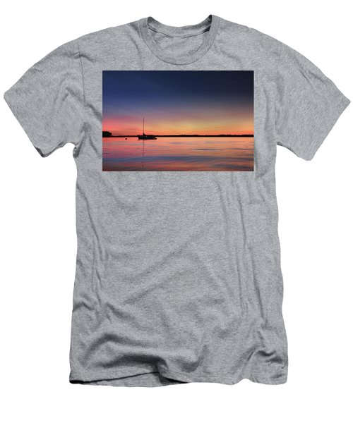 Men's T-Shirt (Slim Fit) featuring the photograph Almost Paradise by Lori Deiter
