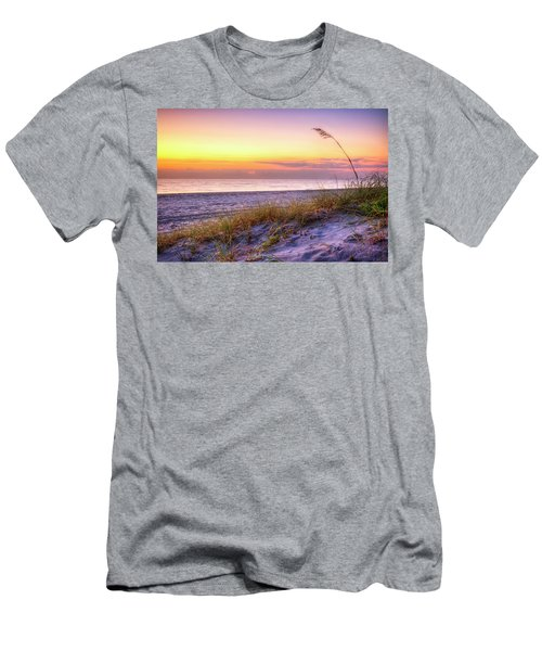 Men's T-Shirt (Slim Fit) featuring the photograph Alone At Dawn by Debra and Dave Vanderlaan