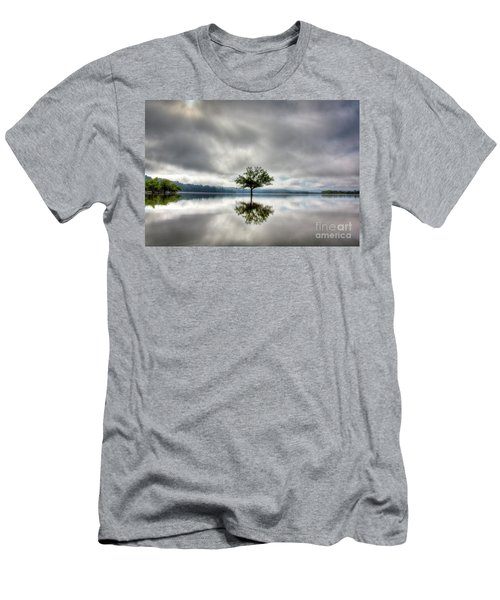 Men's T-Shirt (Slim Fit) featuring the photograph Alone by Douglas Stucky