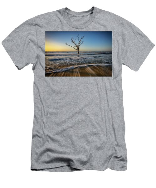 Men's T-Shirt (Slim Fit) featuring the photograph Alone In The Water by Rick Berk
