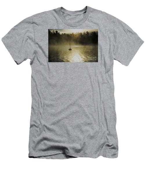 Alone Men's T-Shirt (Slim Fit) by Sherman Perry