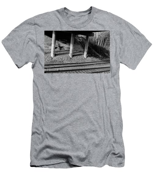 Men's T-Shirt (Slim Fit) featuring the photograph Alone Time by Tara Lynn