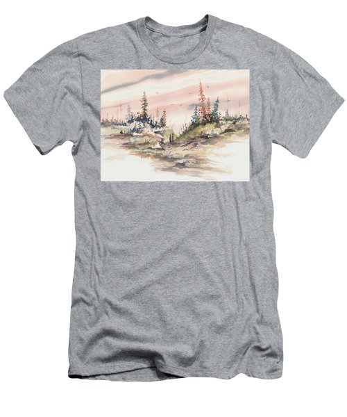 Alone Together Men's T-Shirt (Slim Fit) by Sam Sidders