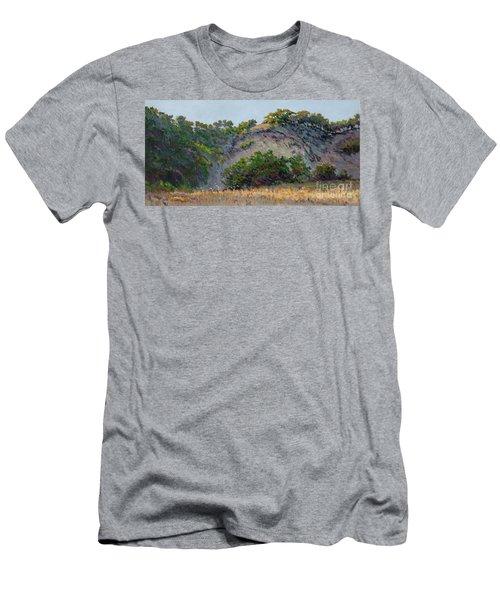 Along Jalama Creek Men's T-Shirt (Athletic Fit)