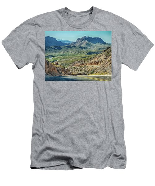 Along The Border Men's T-Shirt (Athletic Fit)