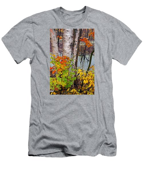 Along The Breezeway In Autumn 2014 Men's T-Shirt (Athletic Fit)