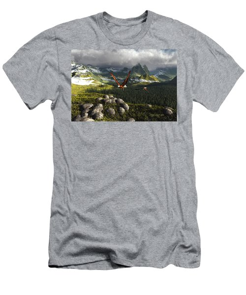 Along The Pinnacles Of Time Men's T-Shirt (Athletic Fit)