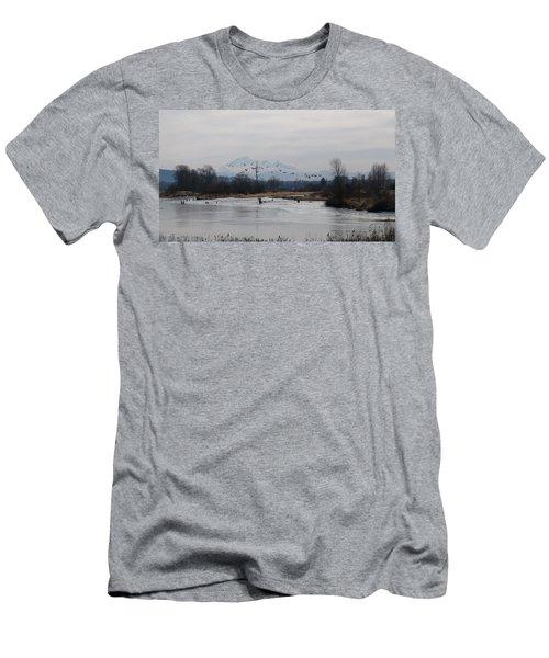 Alouette River Men's T-Shirt (Athletic Fit)