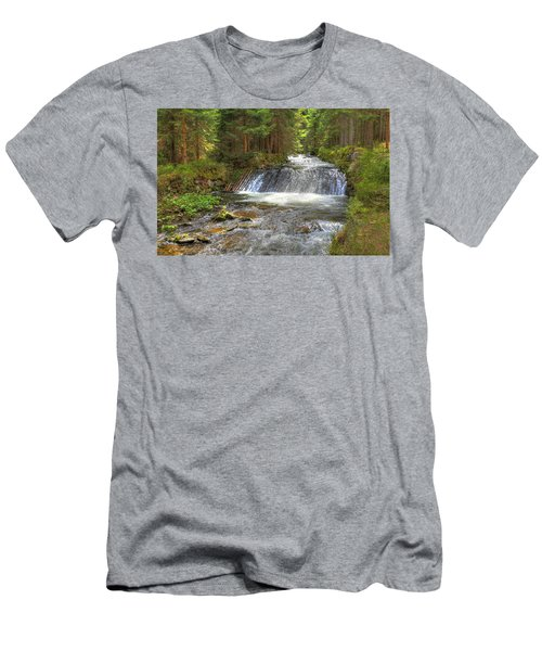 Alpine Fish Ladder Men's T-Shirt (Athletic Fit)