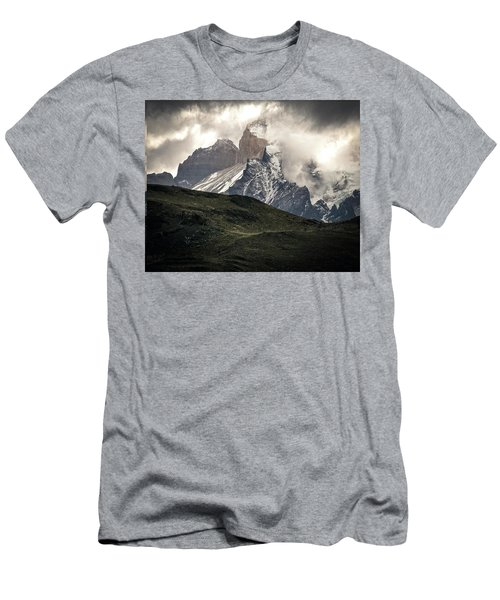 Alpine Shrouded Men's T-Shirt (Athletic Fit)