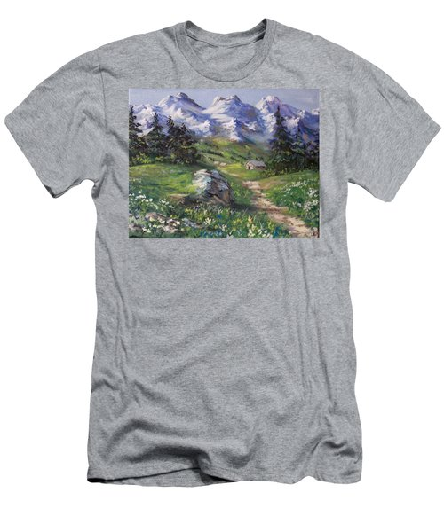 Alpine Splendor Men's T-Shirt (Athletic Fit)