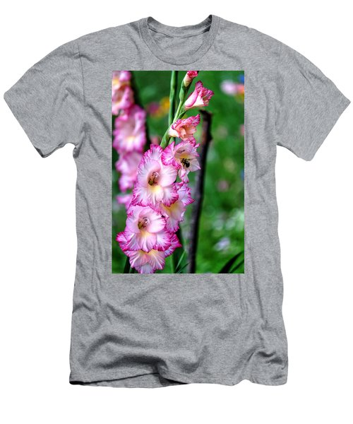 Amaryllis Men's T-Shirt (Slim Fit) by Ronda Ryan