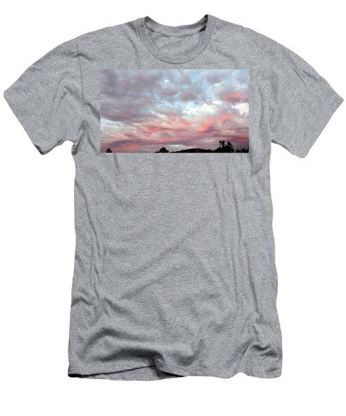Soft Clouds Men's T-Shirt (Athletic Fit)