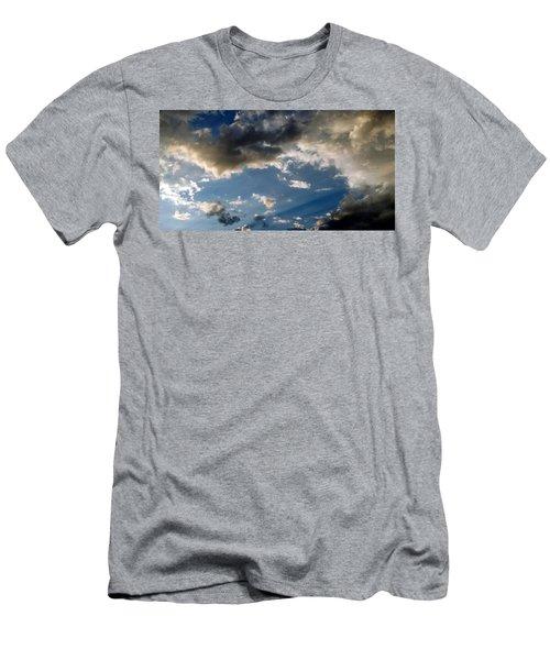 Amazing Sky Photo Men's T-Shirt (Athletic Fit)