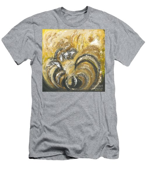 Amber Is The Color Of Your Energy Men's T-Shirt (Slim Fit) by Ania M Milo