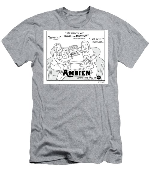 Ambien Coming This Fall To Abc Men's T-Shirt (Athletic Fit)