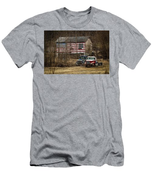American Dream Men's T-Shirt (Slim Fit) by Ray Congrove