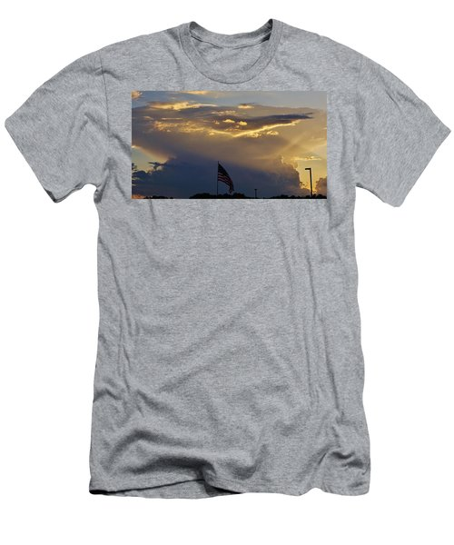 American Supercell Men's T-Shirt (Slim Fit) by Ed Sweeney