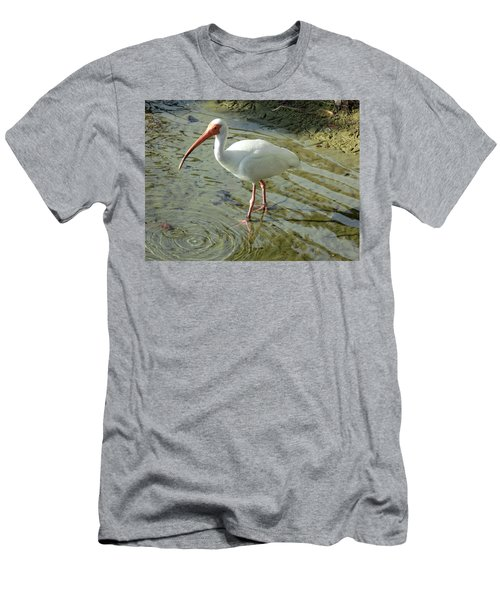 American White Ibis Men's T-Shirt (Athletic Fit)