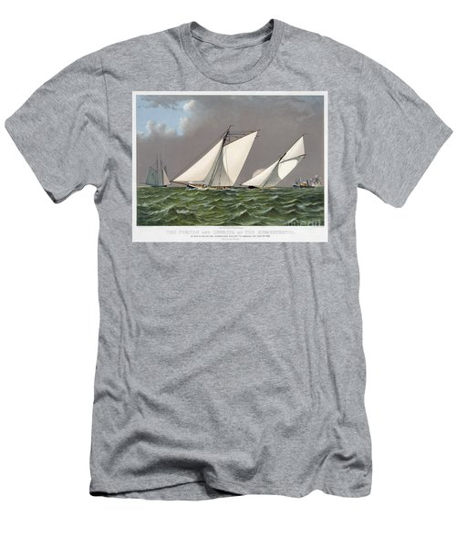 Americas Cup, 1885 Men's T-Shirt (Athletic Fit)