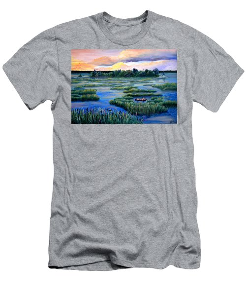 Amongst The Reeds Men's T-Shirt (Athletic Fit)