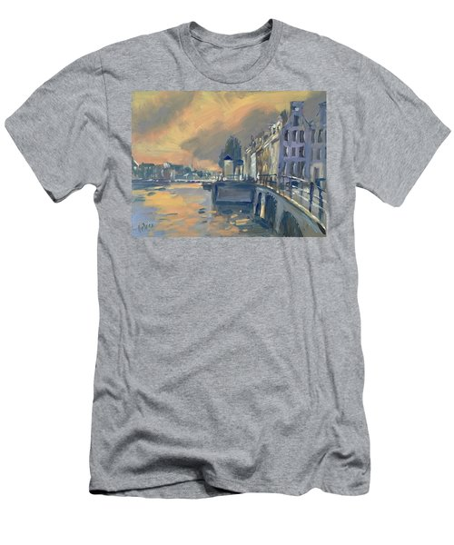 Amsterdm Morning Light Amstel Men's T-Shirt (Athletic Fit)