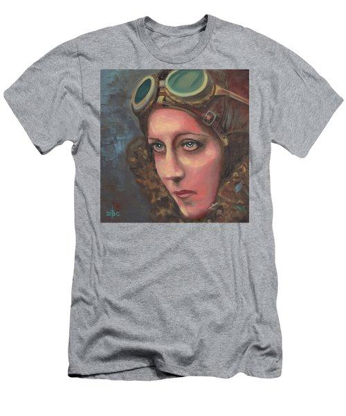 Amy Johnson Men's T-Shirt (Athletic Fit)