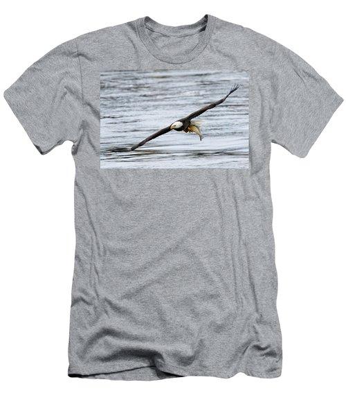 An Eagles Catch 12 Men's T-Shirt (Slim Fit) by Brook Burling